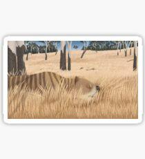 Thylacoleo carnifex - marsupial lion Sticker