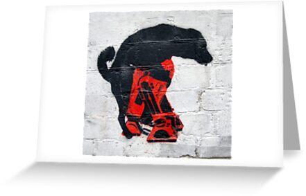 The Black Dog Verses R2D2 by Gavin Kerslake