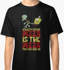 Krusty Krab Pizza - Spongebob Classic T-Shirt