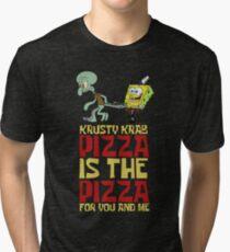 Camiseta de tejido mixto Krusty Krab Pizza - Bob Esponja