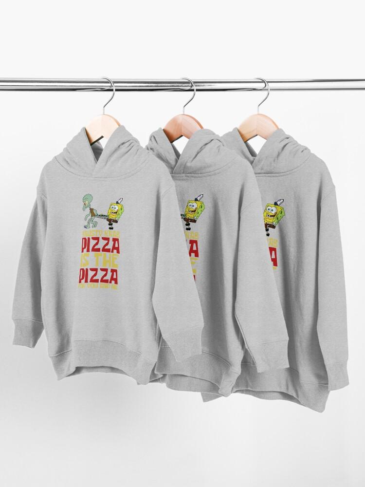 Alternate view of Krusty Krab Pizza - Spongebob Toddler Pullover Hoodie