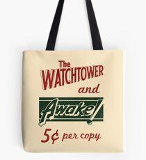 Watchtower Awake Canvas Messenger Bag Vintage Tote Bag
