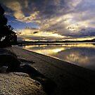 Lazy Sunday Afternoon - 5 Mile Beach - Tasmania  by WobblyWombat
