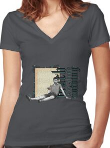 Shakespeare Much Ado About Nothing David Tennant Benedick Women's Fitted V-Neck T-Shirt