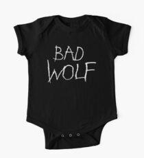 Schlechter Wolf Baby Body Kurzarm