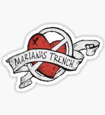 Marianas Trench Heart Logo Sticker
