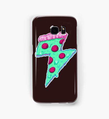 Thunder Neon Pizza Samsung Galaxy Case/Skin