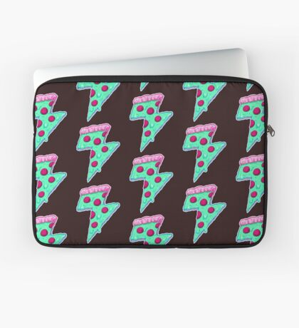 Thunder Neon Pizza Laptop Sleeve