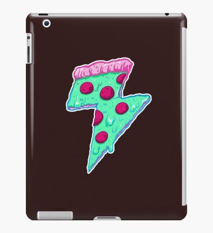 Thunder Neon Pizza iPad Case/Skin