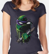 Cowabunga - Donnie Women's Fitted Scoop T-Shirt