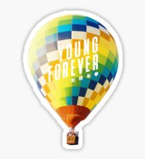 BTS Young Forever Balloon Sticker