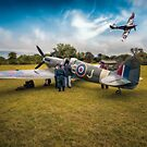 Spitfire Parade by Adrian Evans