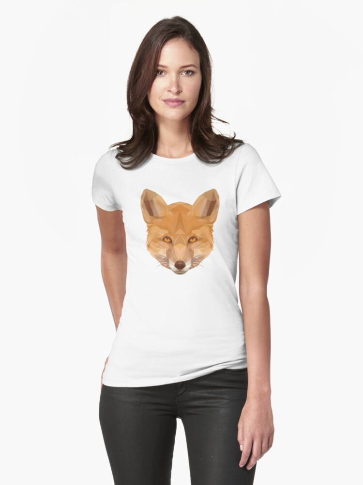 Red Fox  Womens T-Shirt Front