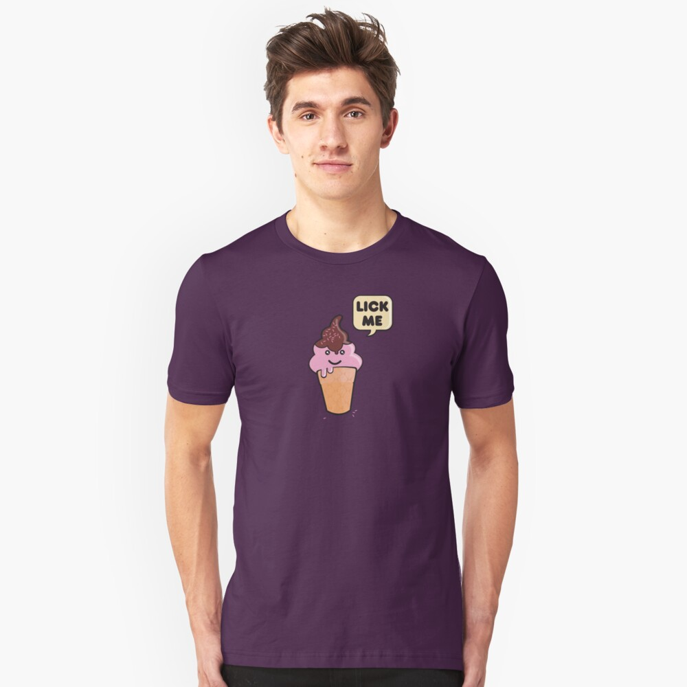 Mr. Icecream Man (v2) Unisex T-Shirt Front