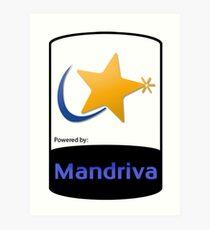 Mandriva [HD] Art Print
