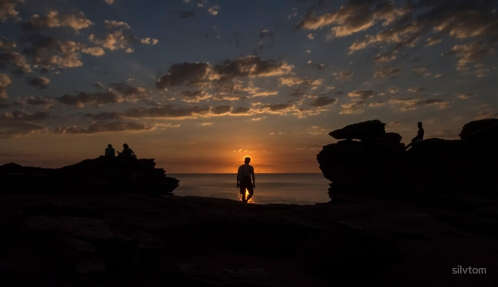 Sunset at Gantheaume Point, Broome by Silvia Tomarchio