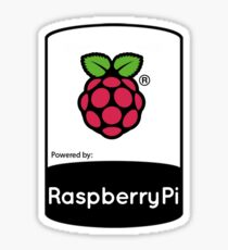 Powered by Raspberry ! Sticker