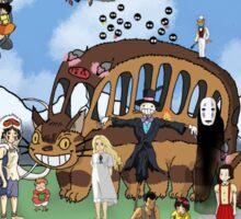 Studio Ghibli Tribute II Sticker