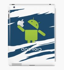 ANDROID EATS APPLE ! iPad Case/Skin
