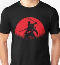 Kirito Yuuki Asuna Red Moon T-Shirt