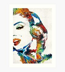 Marilyn Monroe Painting - Bombshell - By Sharon Cummings Art Print