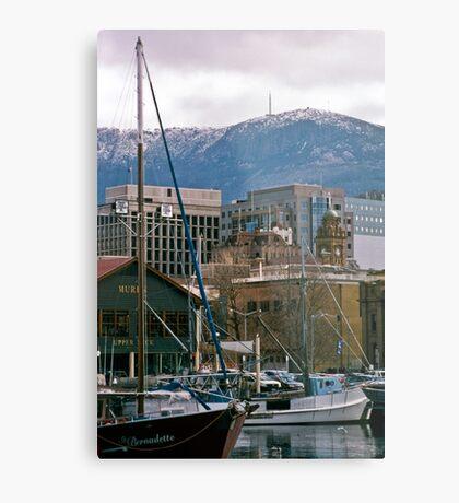 Victoria Dock, Hobart—Kodachrome 64 Metal Print