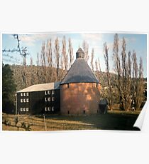 Oast House, New Norfolk, Tasmania—KODACHROME 64 Poster