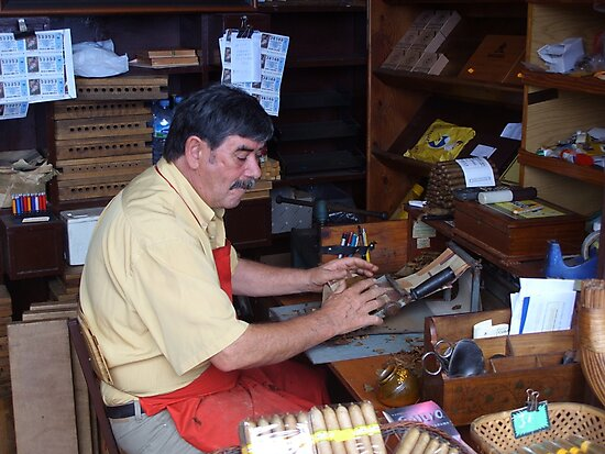 cigar making by Inese