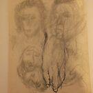 Sundry drawings/Hand -(031015)- Graphite stick by paulramnora