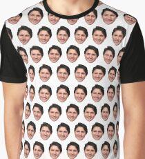 Justin Trudeau face  Graphic T-Shirt