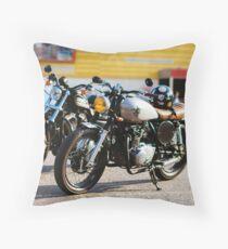 Cafe racers Throw Pillow