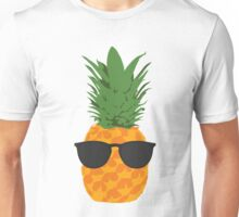Cool Pineapple With Sunglasses Unisex T-Shirt
