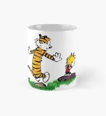 calvin hobbes jump Mug