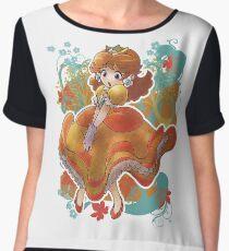 Princess Daisy T-shirt Women's Chiffon Top