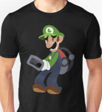 Kleiner Luigi Poltergust 3000 Slim Fit T-Shirt