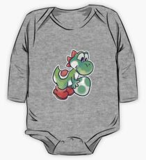 Yoshi holding an Egg One Piece - Long Sleeve