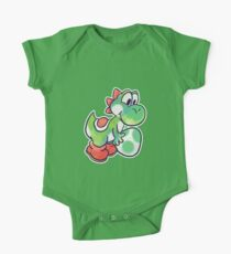 Yoshi holding an Egg One Piece - Short Sleeve