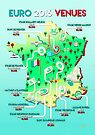 Euro 2016 venues by Mark White