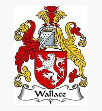 Wallace Coat of Arms / Wallace Family Crest Photographic Print