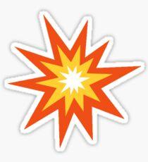Explosion Emoji Sticker