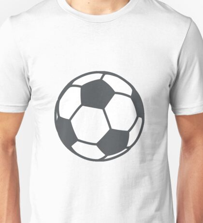 Soccer (football) Emoji Unisex T-Shirt