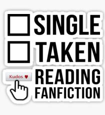 Fanfiction Reader - Relationship Status Sticker
