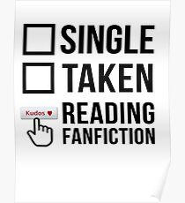 Fanfiction Reader - Relationship Status Poster