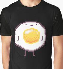 Standing Egg Pixel  Graphic T-Shirt