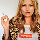 Supreme Kate Moss by mikStudios
