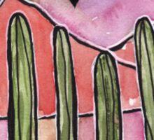 Cactus Sunset  Sticker