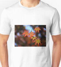 Leaf dance Slim Fit T-Shirt