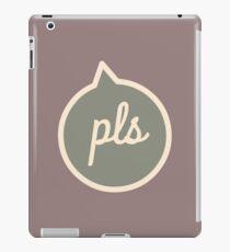 Sarcastic Pls iPad Case/Skin