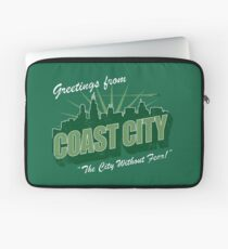 Greetings From Coast City Laptop Sleeve