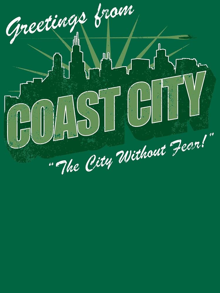 Greetings From Coast City by BlazeComics